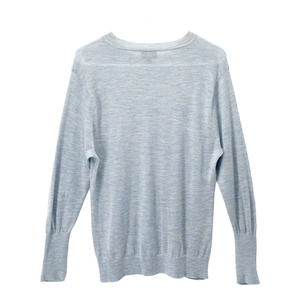 J Crew Men's Crewneck Cashmere Sweater Pullover Long Sleeves Top Blue Size Small